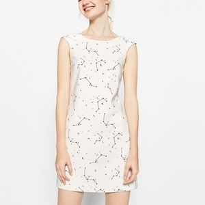 Zara Constellation Print Dress